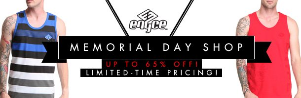 Shop The Enyce Memorial Day Sale