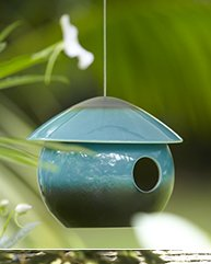 Ceramic Bird Den