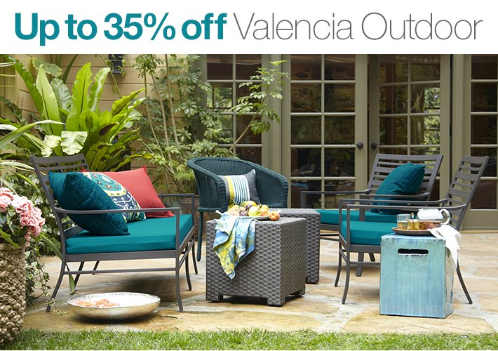 Up to 35% off Valencia Outdoor