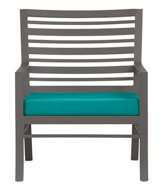 Dining Chair Sunbrella Harbor Blue  Cushion