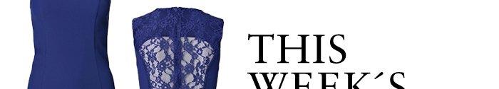 Shop the Monania lace-detail dress
