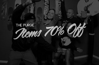 The Purge: Items 70% Off