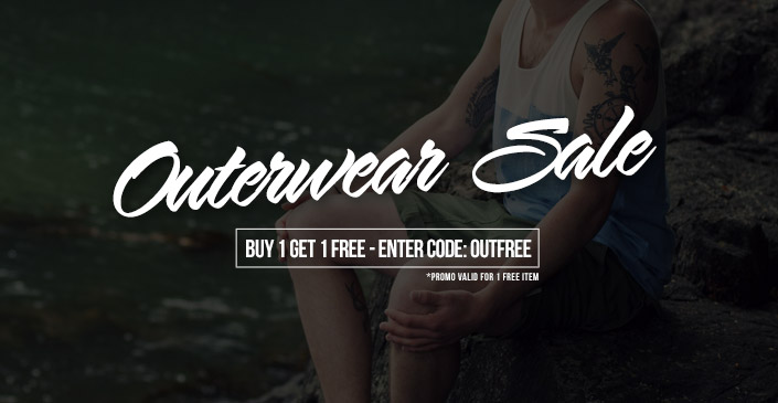 Outerwear Sale: Buy 1, Get 1 Free