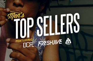 Men's Top Sellers Ft. DOPE, Freshjive, & Matix