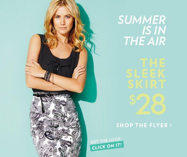 The sleek skirt $28