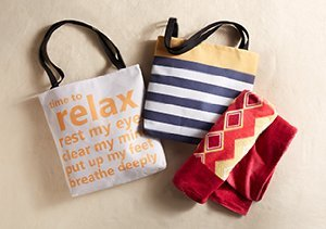 Hit the Beach: Towels & Totes