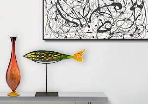 Artful Living: From Art Glass to the Masters