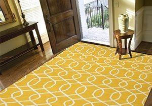 Just Add Color: Flatweave Rugs from Jaipur