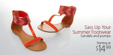 Sass Up Your Summer Footwear