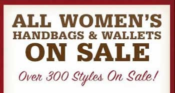 All Handbags and Wallets on Sale