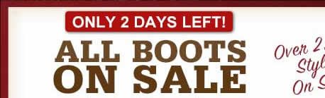 All Boots on Sale