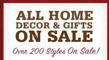 All Home Decor and Gifts on Sale