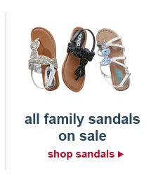 all family sandals on sale | shop sandals