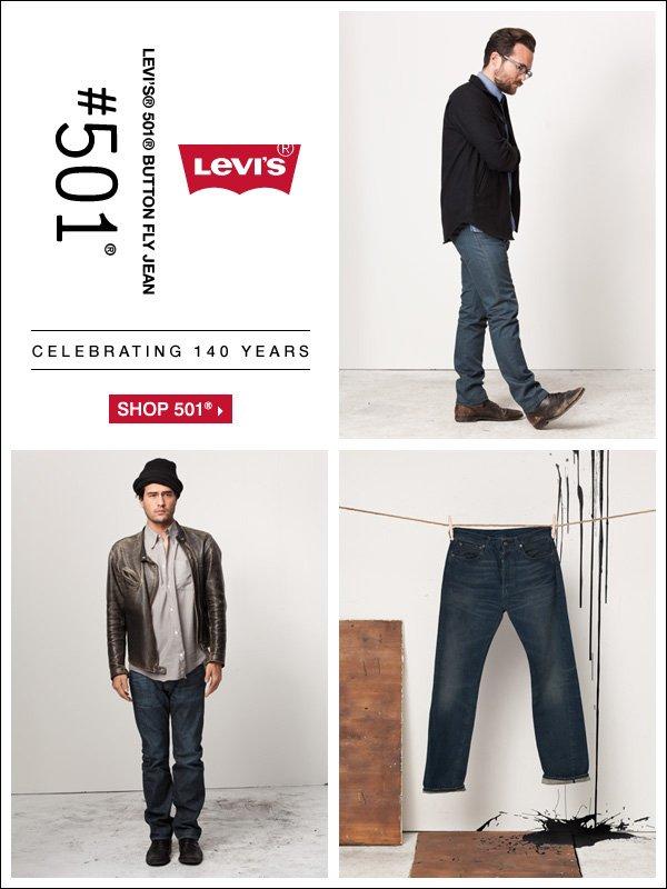 Levi's® 140th anniversary. Shop Levi's®.