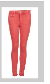 MOTO Red Leigh Jeans
