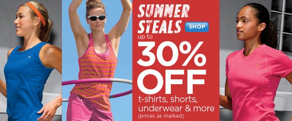 SHOP Womern's Summer Steals SALE