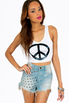 PEACE UP TANK TOP 14