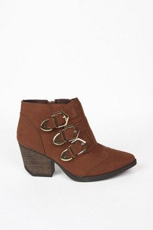 TRIPLE TIME BUCKLE BOOTIES 50