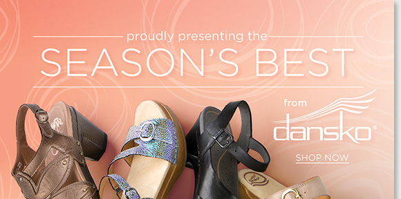 Shop the season's best-selling Dansko styles including the 'Tasha,' 'Sophie,' 'Nina,' and more and enjoy the ultimate comfort of the crème de la crème of Dansko! As your #1 source for Dansko, we have all the styles and colors. Shop now to find the best selection online and in stores at The Walking Company.