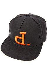The Un-Polo Hat in Black and Orange