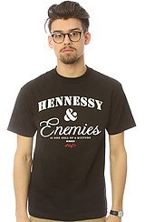 The Hennessey & Enemies Tee in Black