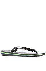 The Brasil Sandal in Black