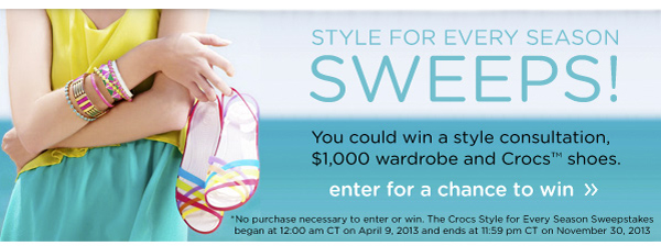 Style For Every Season Sweeps! enter for a chance to win