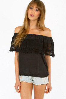 CARRIE CROCHET TOP 35