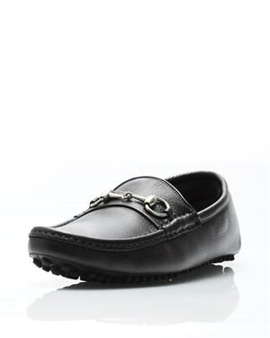 Gucci Genuine Leather Horsebit Loafers- Made in Italy
