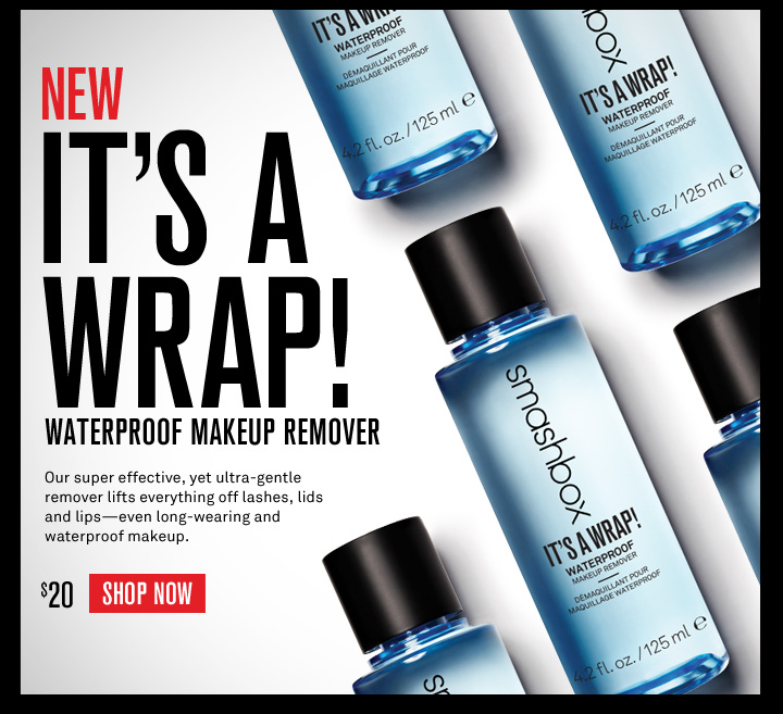New! It's A Wrap Waterproof Makeup Remover
