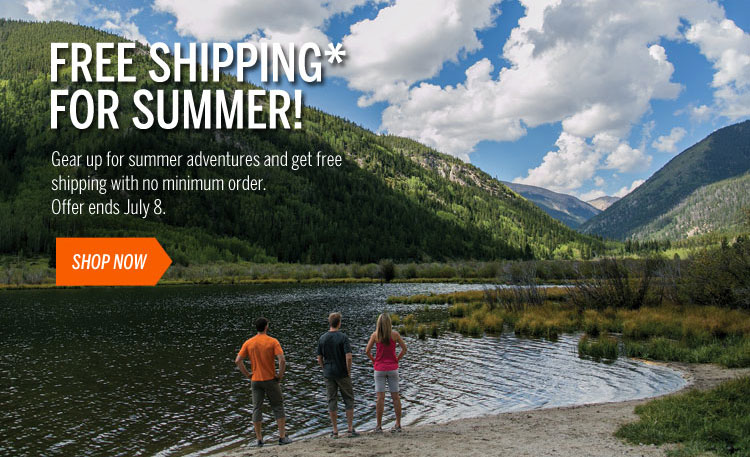 Free Shipping for Summer