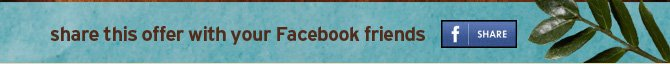 share  this offer with your Facebook friends