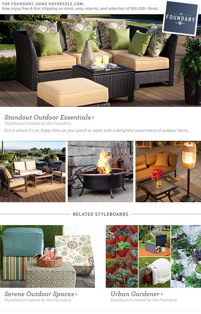 Shop Standout Outdoor Essentials.