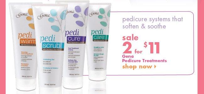 Gena Pedicure Treatments