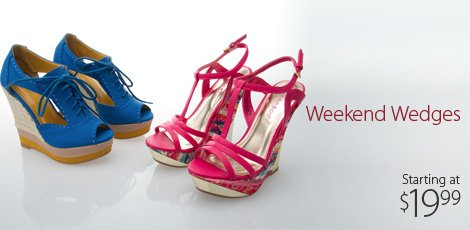 Weekend Wedges