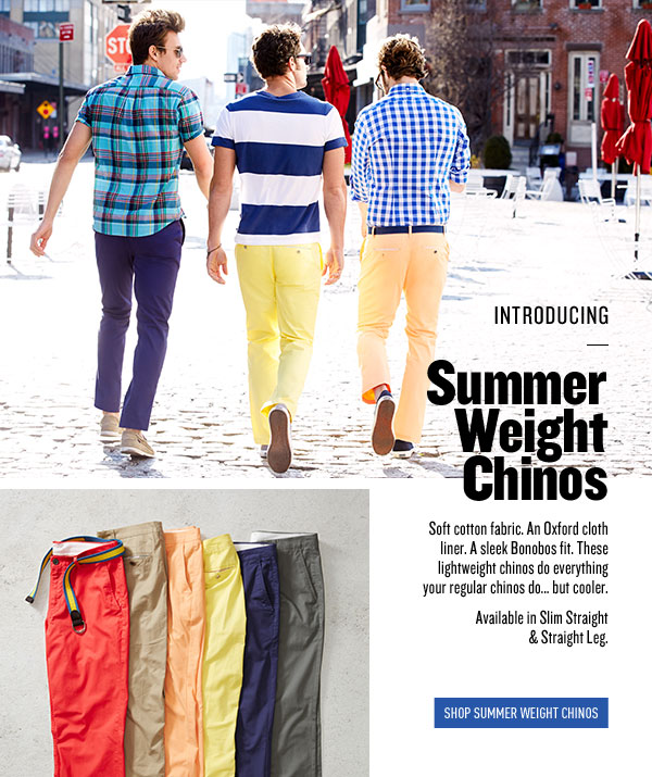 Summer Weight Chinos