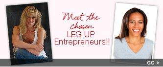 Meet the chosen Leg Up Entrepreneurs! Go.
