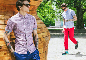 Shop The Look: Wovens, Chinos & Shorts