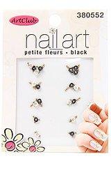 The Nail Art 3D Petite Fleurs in Black