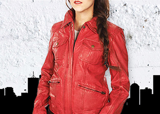Public School Leather Spring Jackets for Her