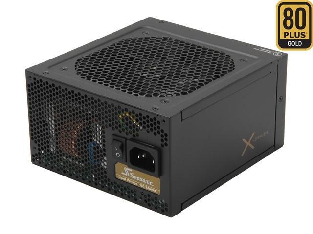 SeaSonic X750 Gold 750W ATX12V V2.3/EPS 12V V2.91 SLI Ready 80 PLUS GOLD Certified Full Modular Active PFC Power Supply