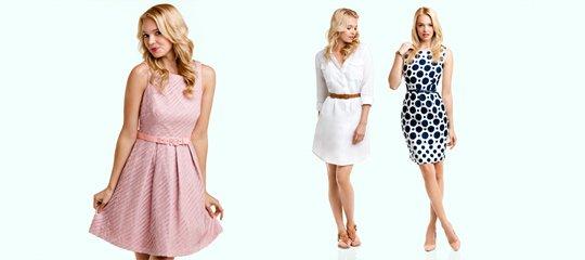 Dresses. Everywhere.