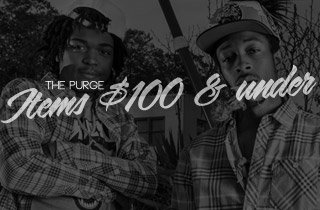 The Purge: Items $100 & Under