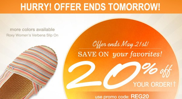 Enjoy 20% Off - Before It Disappears!