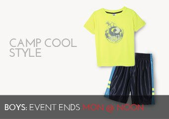 CAMP COOL STYLE - BOYS