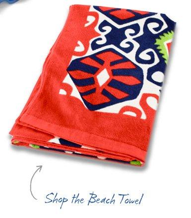 Shop the Beach Towel