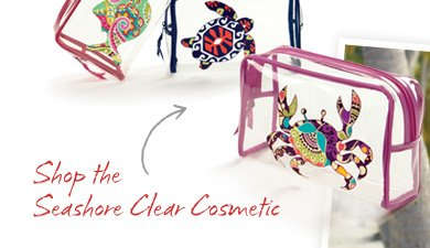 Shop the Seashore Clear Cosmetic