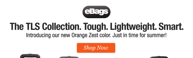 Introducing the new Orange Zest color to the TLS Collection. Shop Now