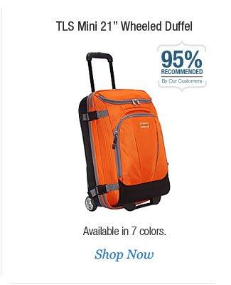 """TLS Mini 21"""" Wheeled Duffel"""
