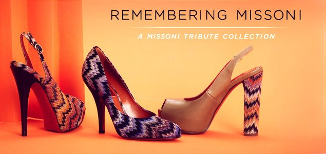Missoni Women's Footwear Made In Italy